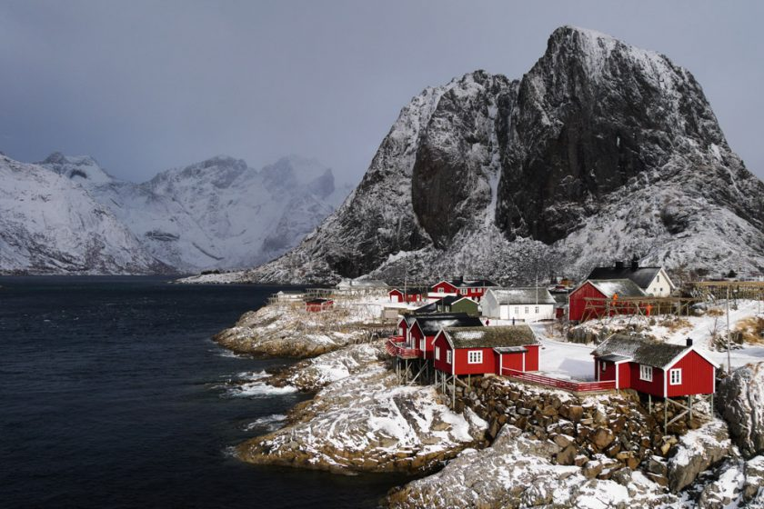 "Exhibition ""Lofoten in Winter"" 2019"